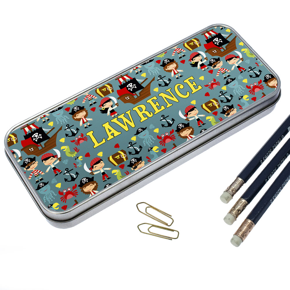 Cute Pirate Pencil Case