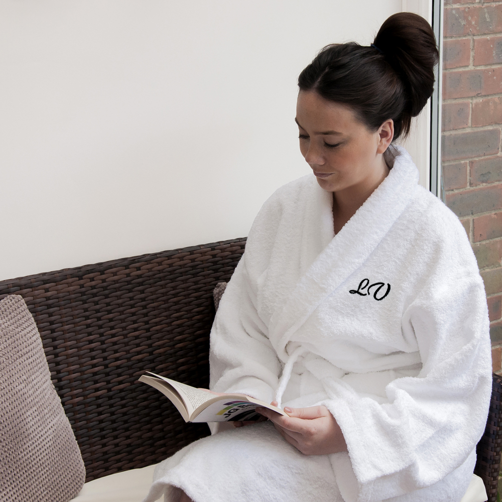 Luxury Egyptian Cotton Bath Robe (Adult)