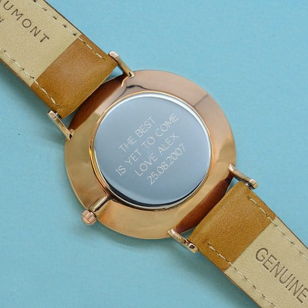 personalised-elie-beaumont-leather-watch-in-camel-per2471-san-min