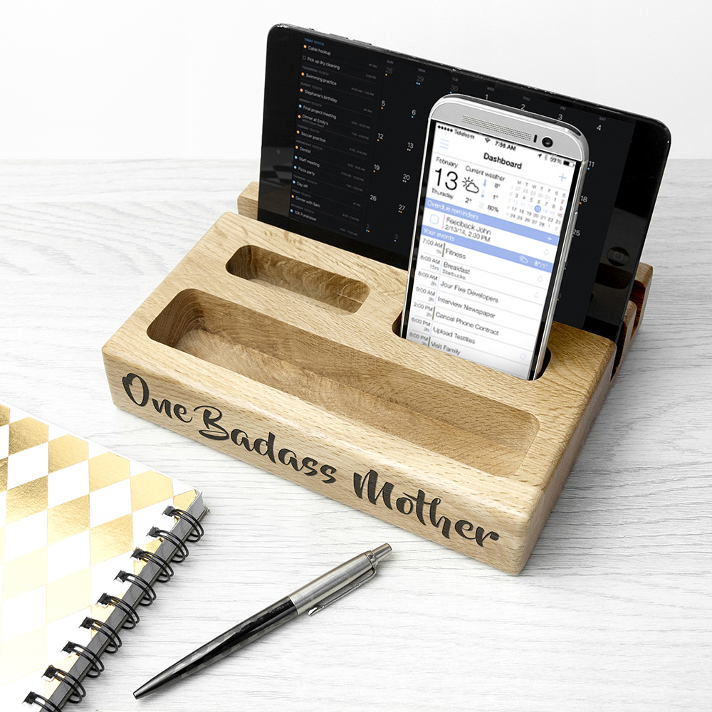 Personalised Multi Tablet and Phone Holder