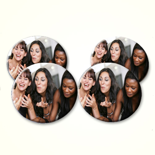 Personalised Photo Set of Four Coasters