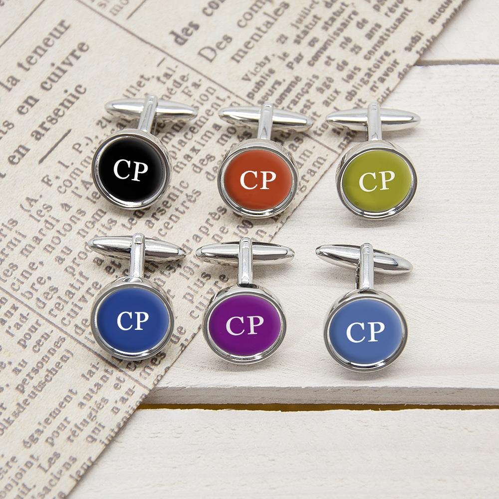 Set Of Six Multi Way Cufflinks